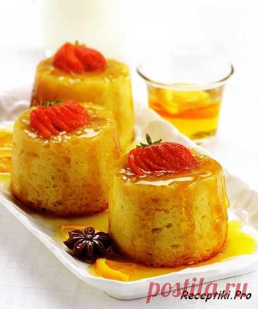 Пирожные святого Клемента (для получения рецепта нажмите 2 раза на картинку)