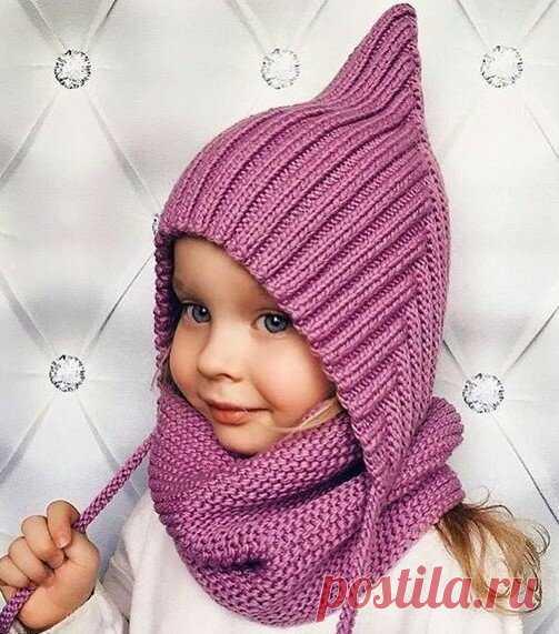 Простейший способ связать детскую шапочку