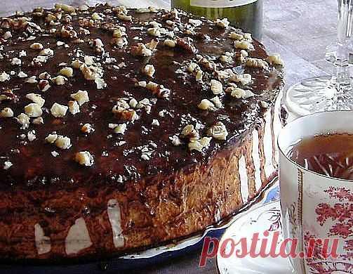 Шоколадный торт | Еда на столе