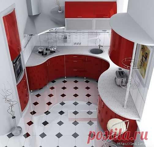 Дизайн кухни 5 кв.м.