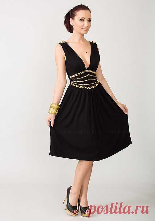 Декорируем маленькое черное платье / Платья Diy / Модный сайт о стильной переделке одежды и интерьера