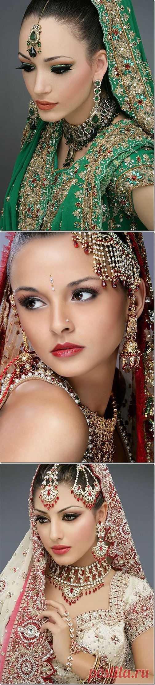 Красота! Индийские невесты.