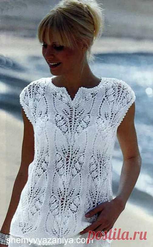 вязание спицами из хлопка на лето для женщин 26 тыс изображений