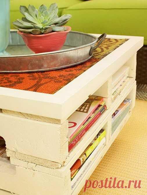 Что можно сделать из деревянных поддонов (паллет) своими руками - Мой Прекрасный Дом - медиаплатформа МирТесен