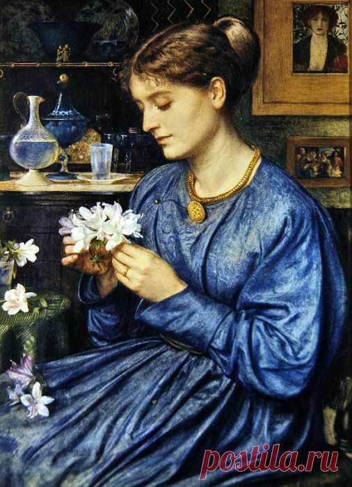 «Портрет Агнессы Поинтер» картина - Эдвард Джон Пойнтер