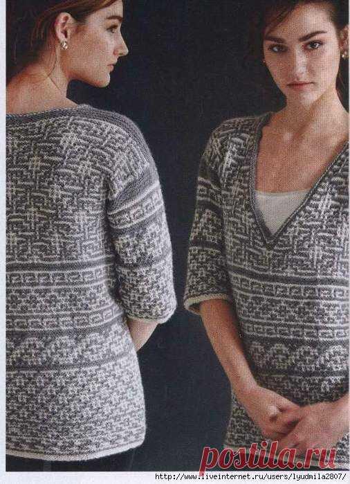 Хочу связать ленивый мужской свитер.   Марусино рукоделие   Яндекс Дзен