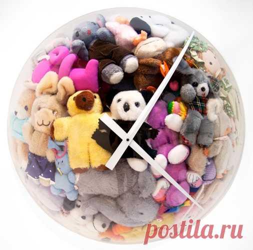 Мягкоигрушечные часы / Для детей / ВТОРАЯ УЛИЦА