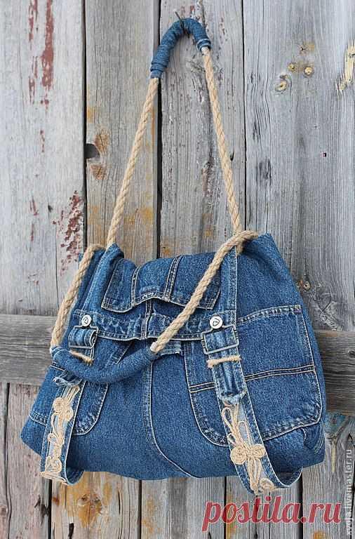 d7fd999564a4 Джинсовые рюкзаки и сумки (часть 2)   сумки-сумки-сумочки   Постила