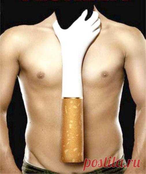 Влияет ли курение на мышцы?
