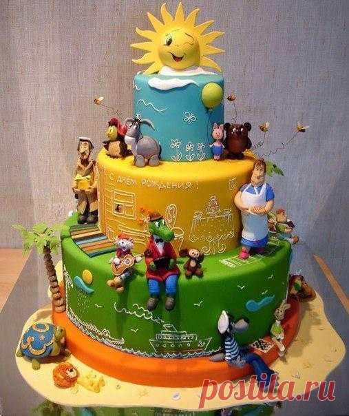 Торт, напоминающий нам о нашем детстве