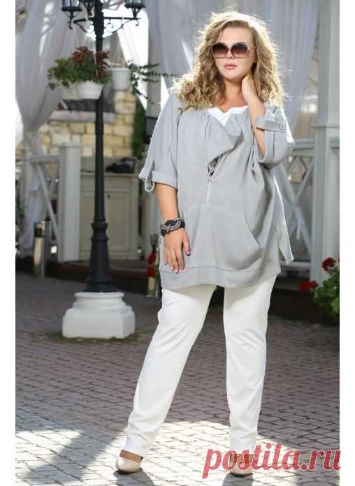 71214ee3f8c Pinterest polnymledi.ru Стильная блуза в стиле БОХО сайт МОДНАЯ ЖЕНЩИНА  Plus size http