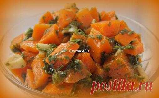 Оранжевое настроение:  Арабский морковный салат