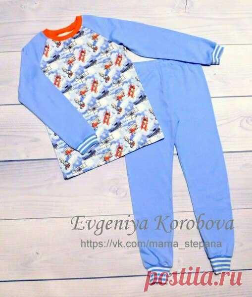 Выкройка пижамы детской р.92-128 Источник: https://vk.com/nashiposhivushki #выкройки #мастер_класс#шитье #идеи #моделирование