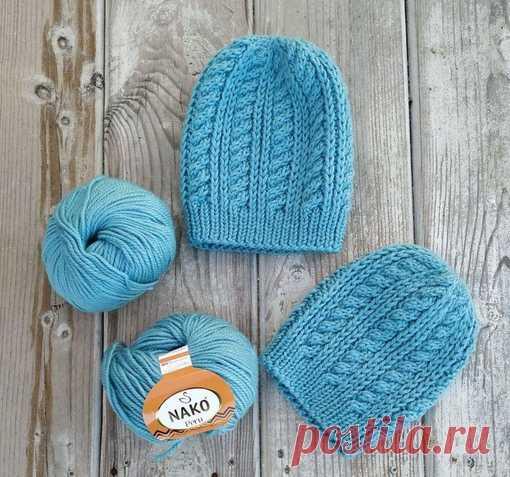 Вяжем шапочку Перу из новой пряжи от Nako Есть похожие изделия? Покажите в комментариях #шапка@knit_best, #шапка_спицами@knit_best  Для вязания шапочки на размер 56-58 нам понадобится: Показать полностью…