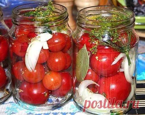 САХАРНЫЕ ПОМИДОРКИ.   Получается примерно 6 банок по 800 гр:   — небольшие спелые помидоры (не черри)  Показать полностью…