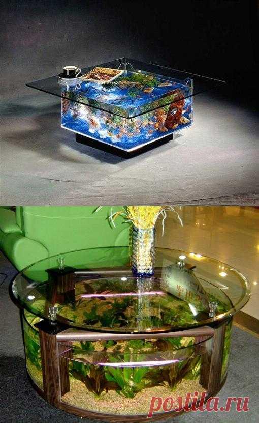 Стол-аквариум • Социальная блог-платформа Horde.me