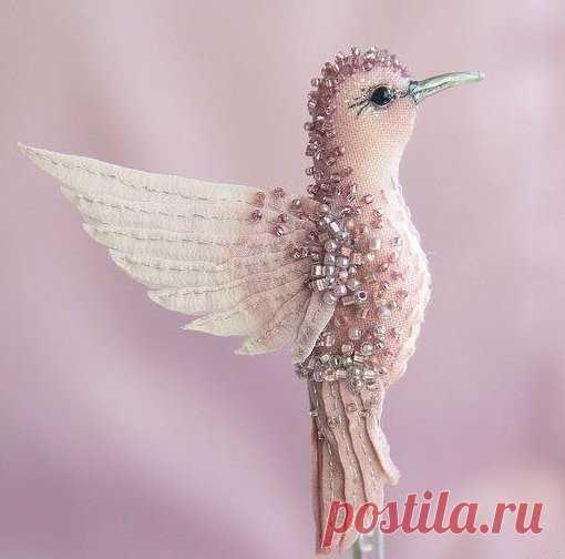 Чудесные броши-птицы
