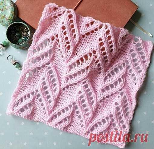 Классный узор  #узор_ажурный@knit_best, #узор_спицами@knit_best  схема