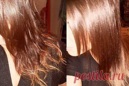 Волосы блестят и растут как на дрожжах! .