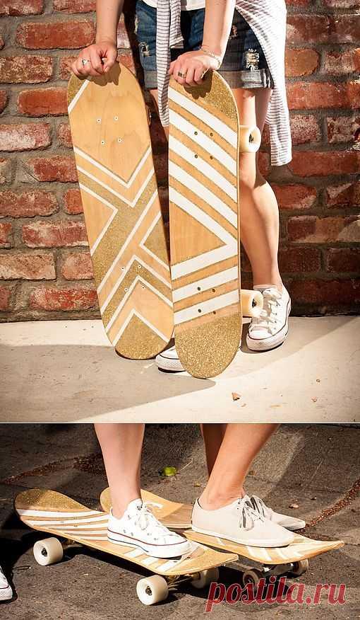 Скейтборд для девушки (DIY) / Авто Мото Вело / Модный сайт о стильной переделке одежды и интерьера