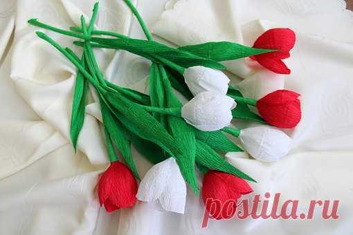 Натташина библиотека: Цветы своими руками (подборка)