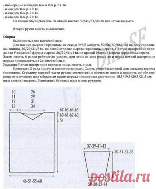 ДЖЕМПЕРЫ белого цвета с описанием + схемы. | ВИПпетельки | Яндекс Дзен