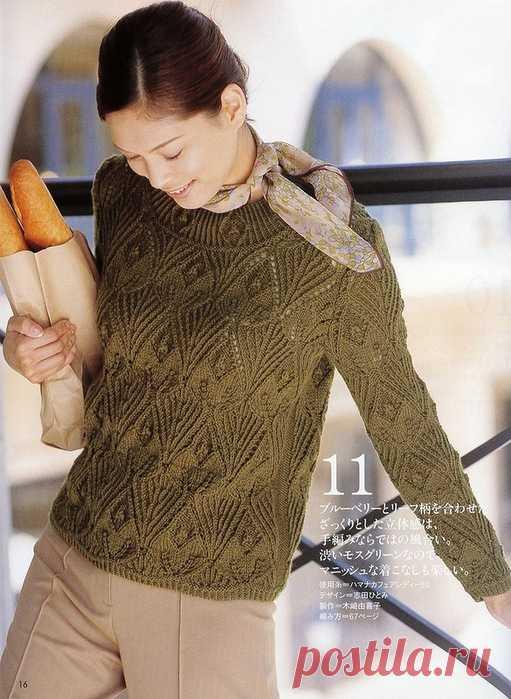 Женские вязаные пуловеры, жилеты, топы