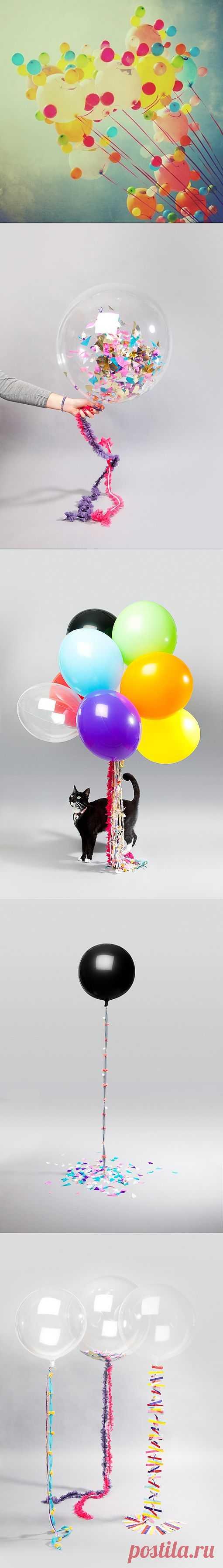 Воздушные шары / Праздничный декор / Модный сайт о стильной переделке одежды и интерьера
