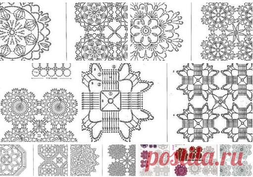 Motives and connections for openwork creations