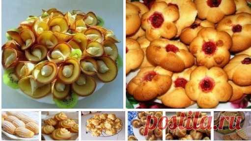 Подборка рецептов отличного домашнего печенья