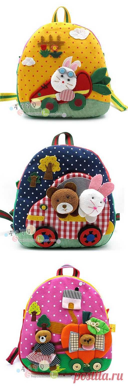 Блоги@Mail.Ru: Рюкзаки, сумочки для детей. Много красивых идей!