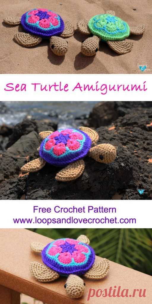 Sea Turtle Amigurumi Loops & Love Crochet