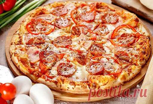 Безупречная пицца «Момент» — ДОМАШНИЕ