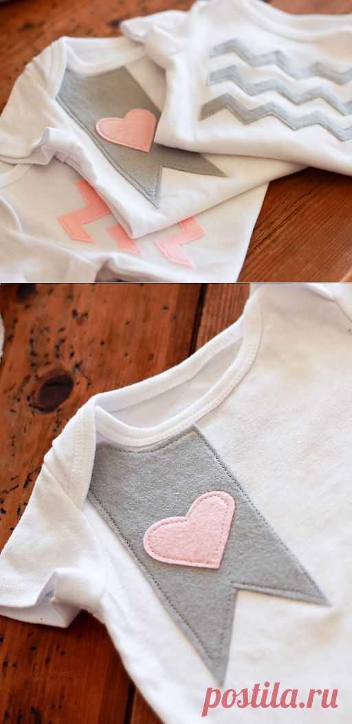 Декор футболки (мастер-класс) / Аппликации / Модный сайт о стильной переделке одежды и интерьера