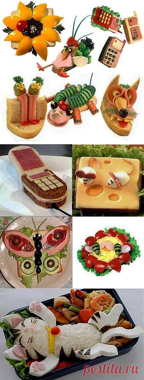 Украшение блюд, детский праздник, день рождения ребенка Снова Праздник!