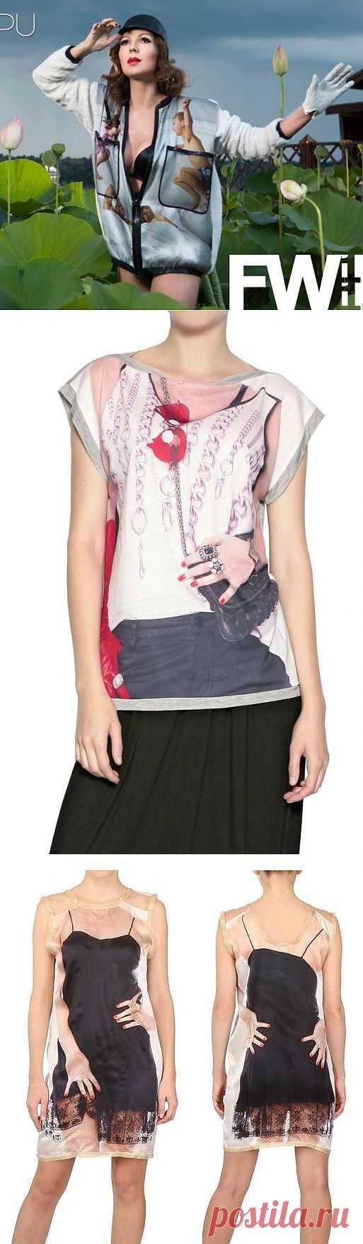 Принты одежды (трафик) / Рисунки и надписи / Модный сайт о стильной переделке одежды и интерьера