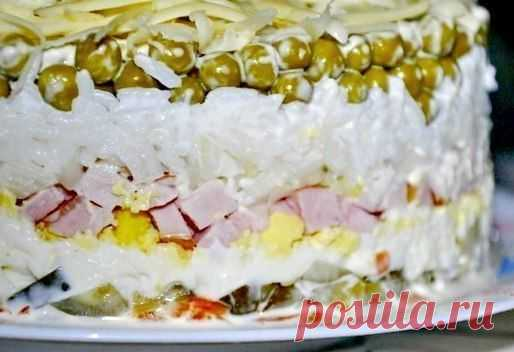 Вкуснейший слоеный салат | Кулинарные Рецепты