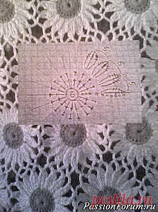 78fe46c659e7 Рисунок РОМАШКИ - запись пользователя Екатерина (Екатерина) в сообществе  Вязание крючком в категории Вязание