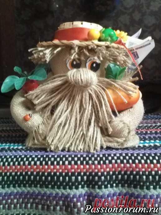 Поделки из джута и мешковины - запись пользователя Надежда (Надежда Анджан) в сообществе Мир игрушки в категории Разнообразные игрушки ручной работы