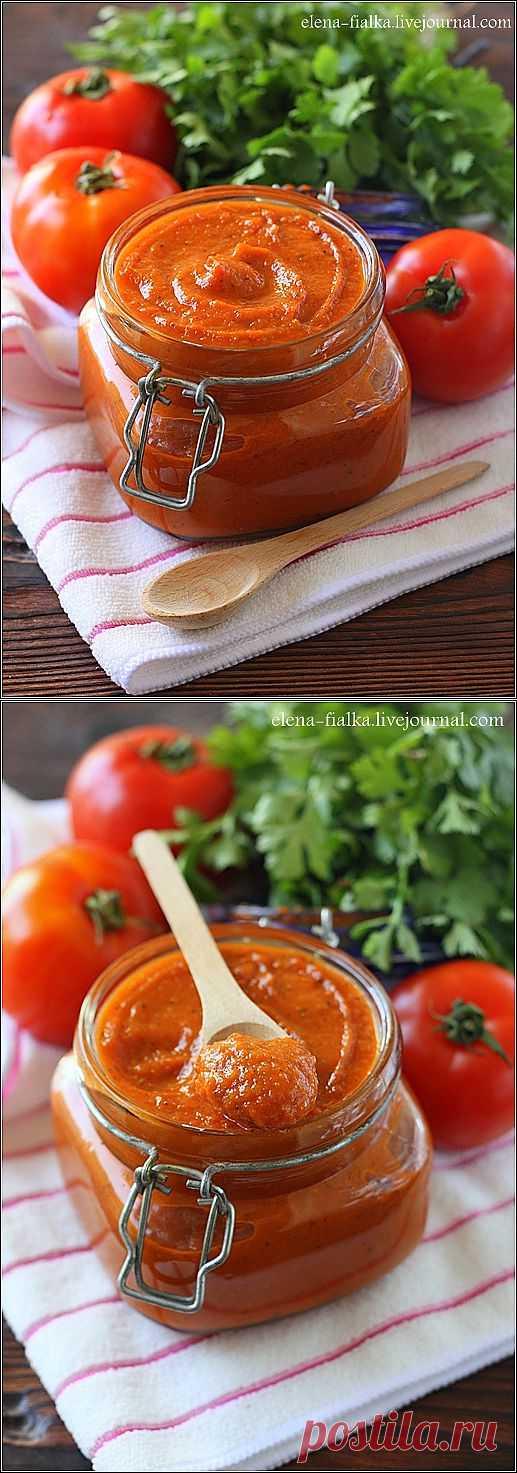В гостях у Фиалки! - Томатная пассата (Passata di pomidorini di Grigorio)