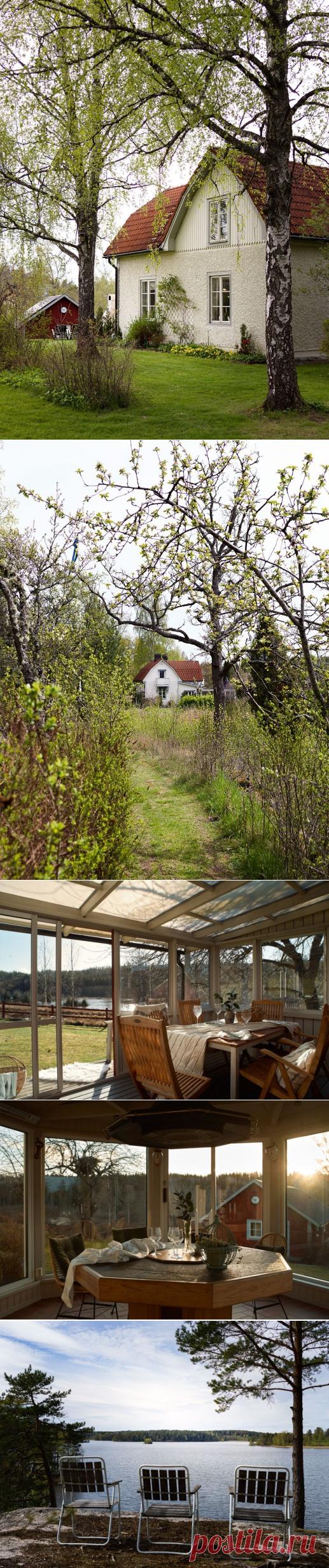 Коттедж и просторный гостевой дом в Мальмкёпинге, Швеция