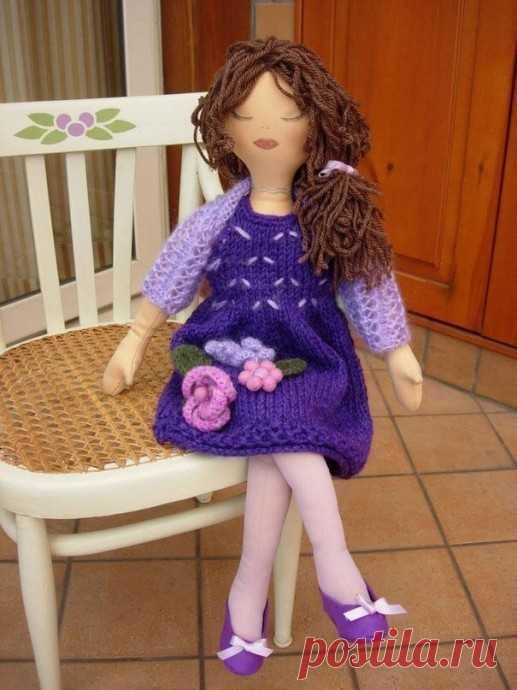 Интерьерная куколка своими руками