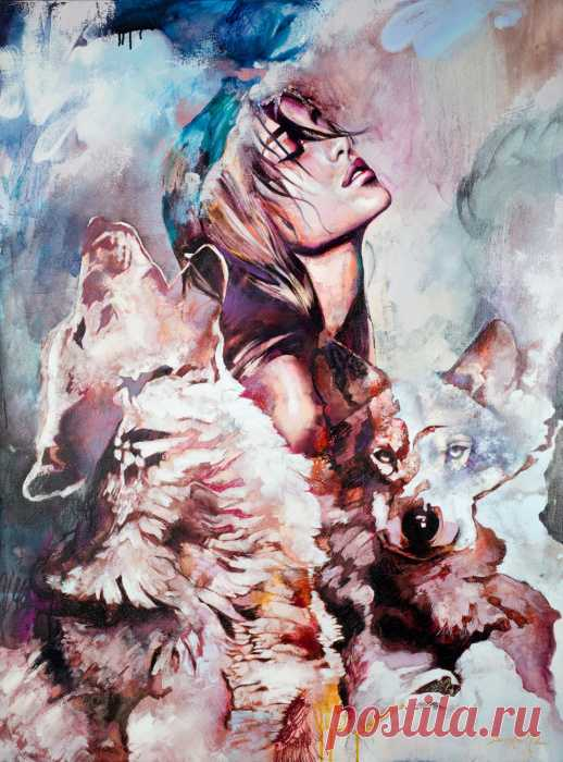 Чувственные картины 18-летней художницы, которые ценители со всего мира приобретают за баснословные суммы