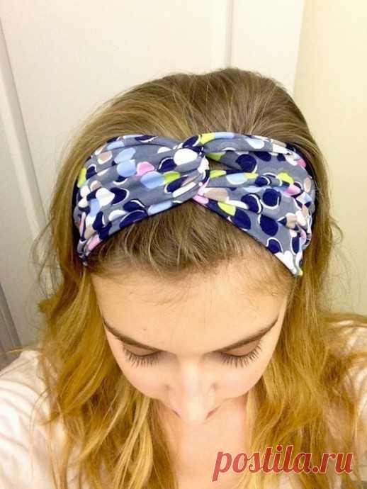 Создание повязки для волос своими руками