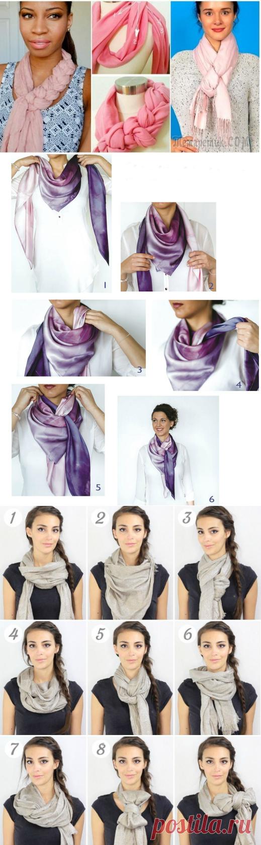 Обвязка шарфа крючком фото схемы и описание уже