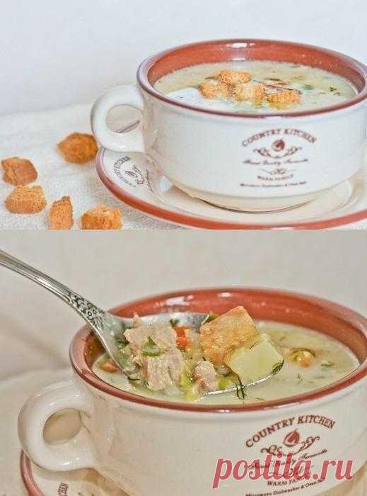 Сырный суп!