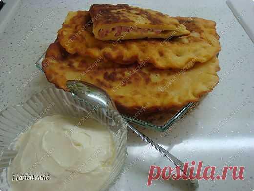 Из картофельного теста нежные пирожки