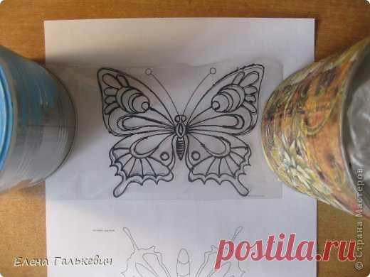 Бабочка из пластиковой бутылки   Страна Мастеров