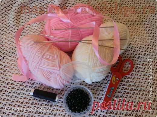 Мастер-класс по вязанию спицами: Пинетки