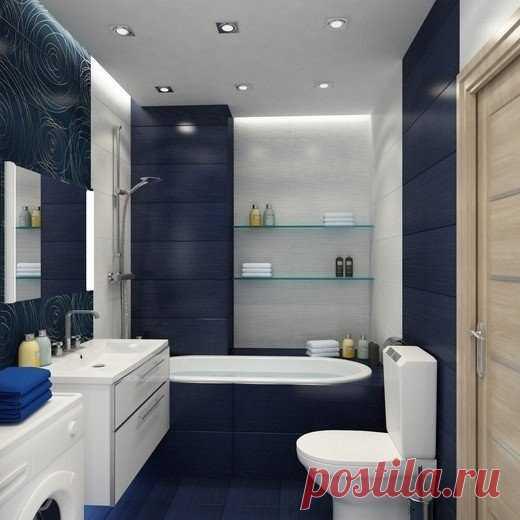 Нравится такая ванная?
